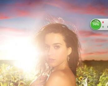 Katy Perry强势冠单《Dark Horse》