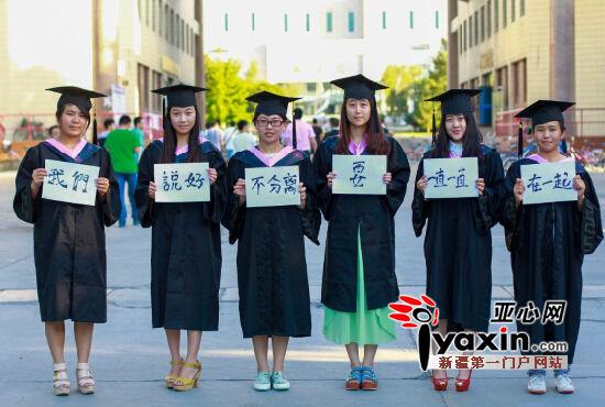 新疆高校毕业季 毕业照片秀创意 组图