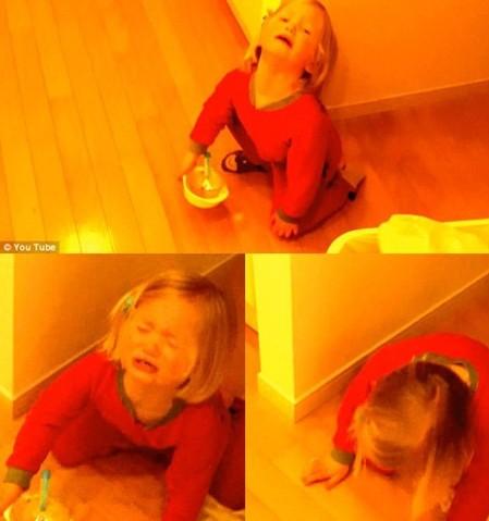 三岁小懒妹演技逼真PK奥斯卡