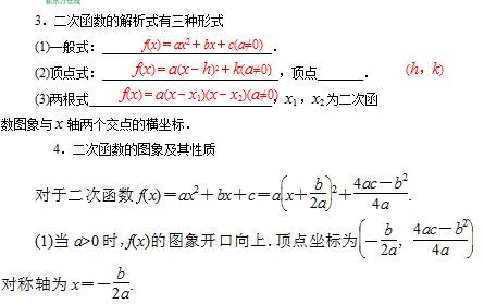 反比例次函数知识结构图