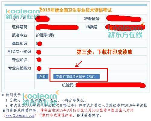 山东卫生人才网_2015中国卫生人才网成绩单打印入口-卫生资格考试