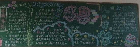 教师节黑板报边框 设计图展示