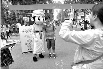北京交通大学女生伴读报到小漫画v女生(图)_高新生书童时尚图片