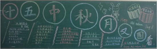 高中黑板报设计图案大全手工制作