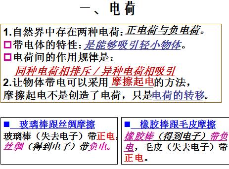 中考物理总复习课件之电流和电路(下载版)