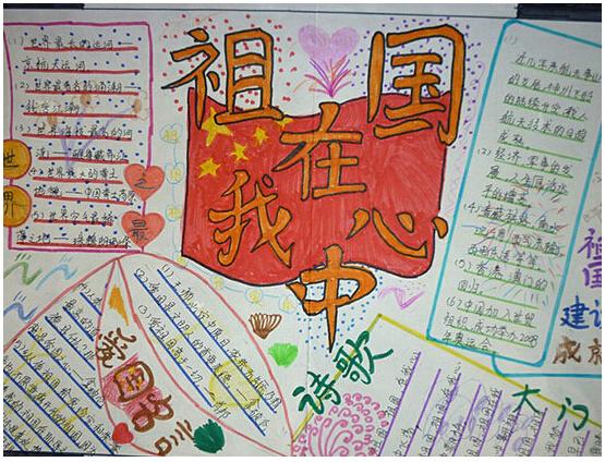 2015国庆节手抄报素材精选(15)