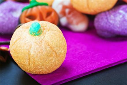 万圣节搞怪美食:棉花糖南瓜