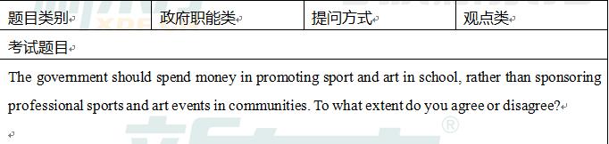 2015年11月19日雅思写作真题解析(新东方版)