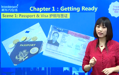 旅游英语500句:护照和签证