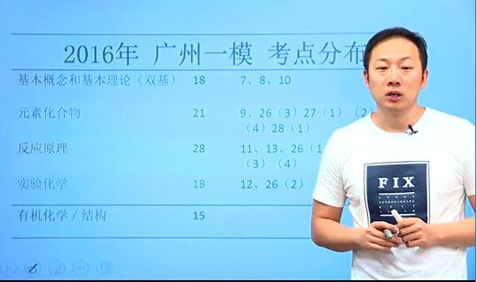 新东方在线名师解析2016广州一模化学试题