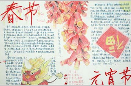 关于春节的故事、描写春节的作文、关于春节的手抄报等等资料请关注