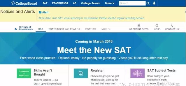 2016年新SAT报名流程介绍(附详细图解)
