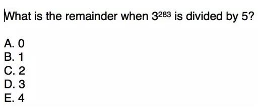 GRE数学真题及解析(4)