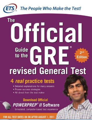 GRE考试官方指南PDF版下载