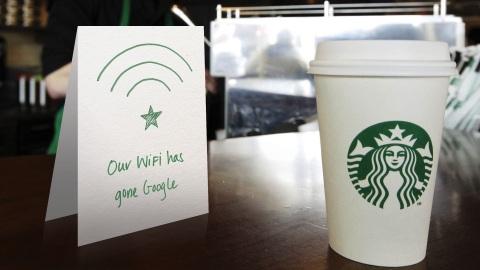 星巴克的免费WiFi可能会给你带来风险(图)