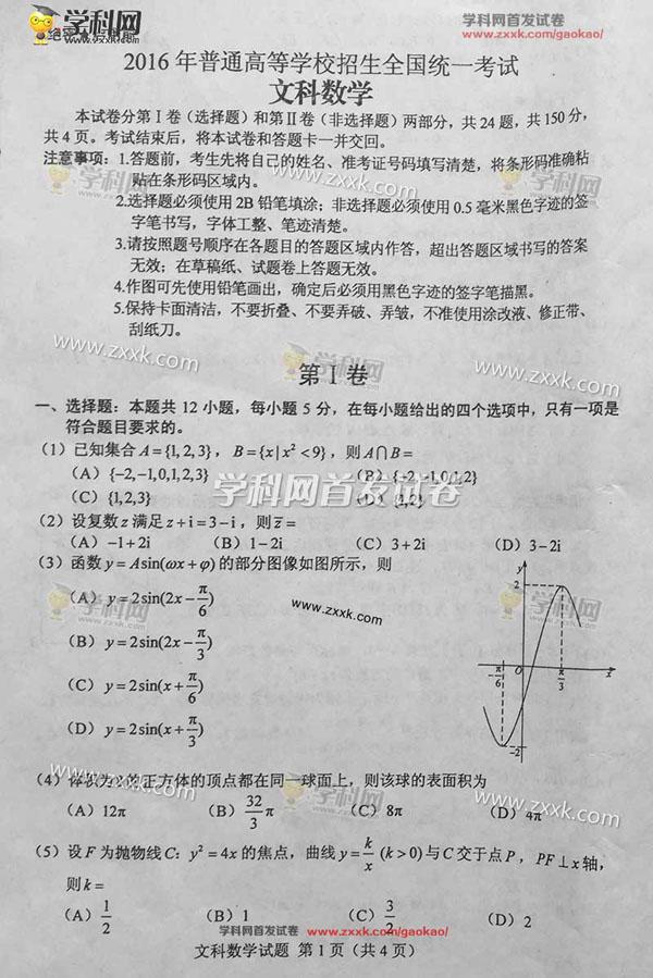 【2016年高考数学试卷心得与体会】