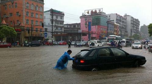暴雨来袭 北京启动看海模式(图)