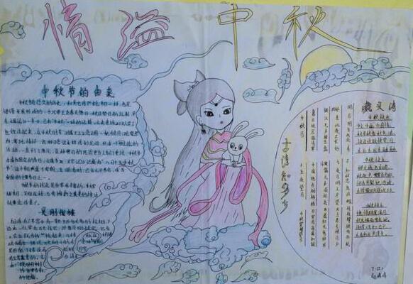 关于中秋节的手抄报 中秋
