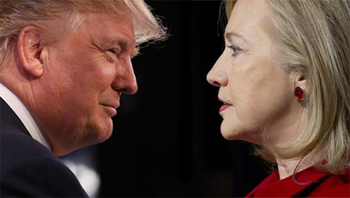 美国大选:川普vs希拉里首场辩论完整视频