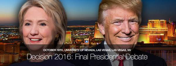 美国大选最后一战:川普vs希拉里终极辩论完整视频