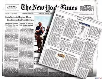 美国高中生必读杂志推荐《纽约时报》(The New York Times)