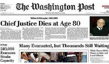 美国高中生必读杂志推荐《华盛顿邮报》Washington Post