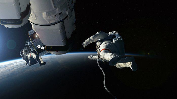 """中国宇航员外太空听到神秘""""敲门声""""(图)"""
