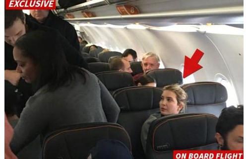 双语:特朗普女儿伊万卡飞机上遭人骚扰(图)_英语
