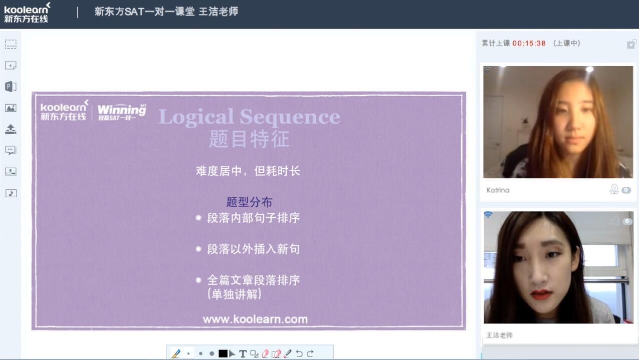 新东方在线王洁:SAT文法题型Logical Sequence解题思路
