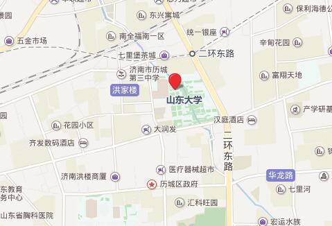 山东大学托福考点地图