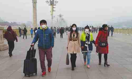 双语:北京人口数量会因雾霾而减少吗?(图)