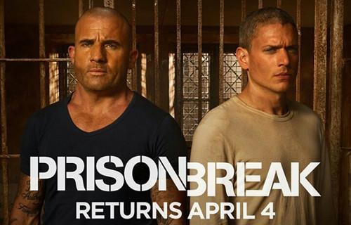《越狱》第五季今年4月回归(双语)