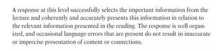 托福综合写作阅读部分总结
