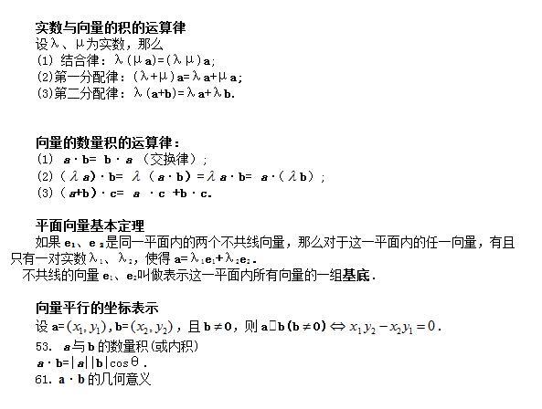 高考数学公式