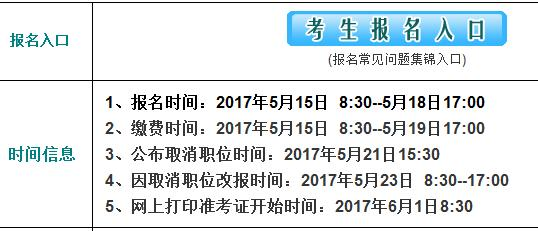 2017江西宜春市事业单位招聘报名入口