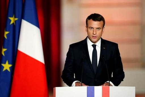 马克龙宣誓就职:世界需要一个强大的法兰西(双语)