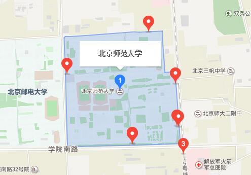 北京师范大学GRE考点查询/评价/地图/介绍