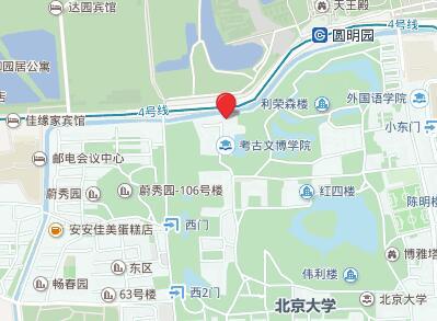北京大学GRE考点查询/评价/地图/介绍