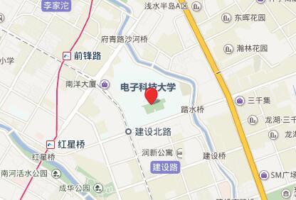 电子科技大学(成都)GRE考点查询/评价/地图/介绍