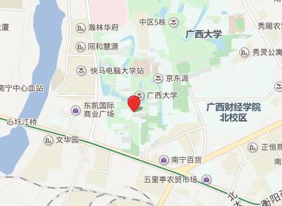 广西大学GRE考点查询/评价/地图/介绍