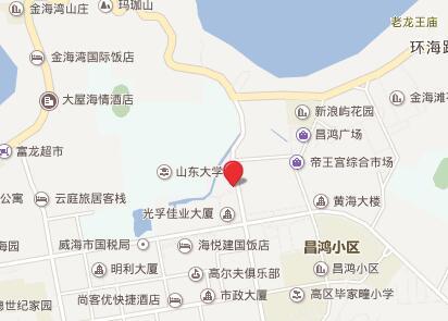 山东大学威海分校gre考点查询/评价/地图/介绍