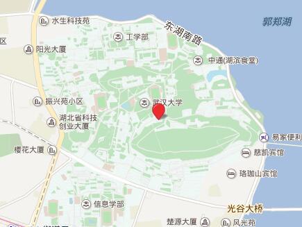 武汉大学GRE考点查询/评价/地图/介绍