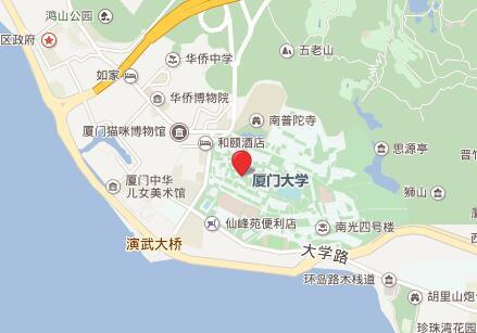 厦门大学GRE考点查询/评价/地图/介绍