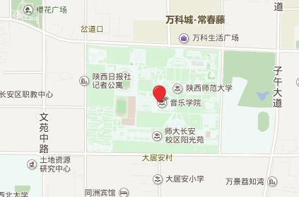 陕西师范大学GRE考点查询/评价/地图/介绍