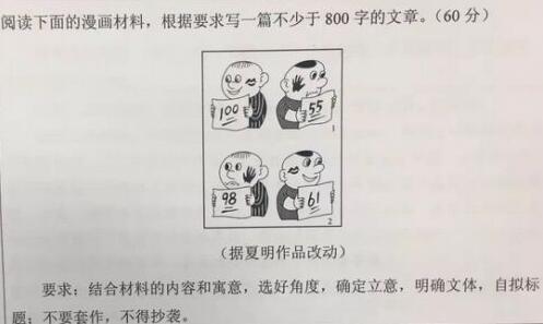 2017广东高考语文作文题目 历年高考作文题目汇总