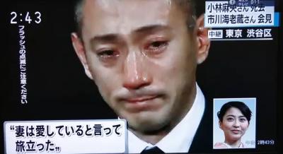 2010年与著名歌舞伎演员市川海老藏结婚,婚后育有两个孩子.