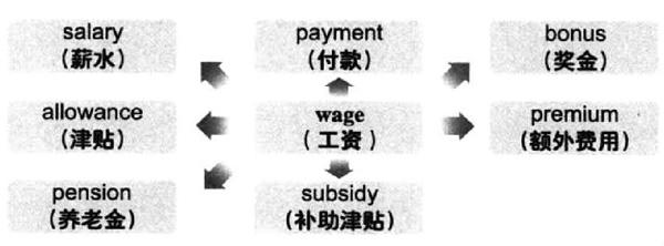 大学英语六级词汇看图记忆:wage