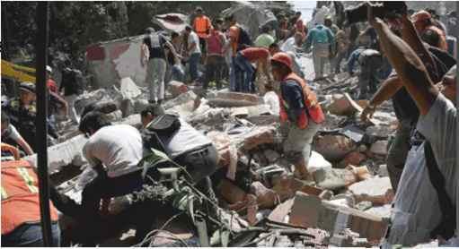 墨西哥发生7.1级地震 已致至少226人死亡(双语)