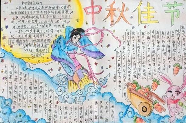 关于中秋节的手抄报资料:中秋佳节