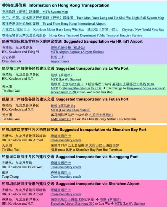 2017年10月SAT香港亚博馆交通路线
